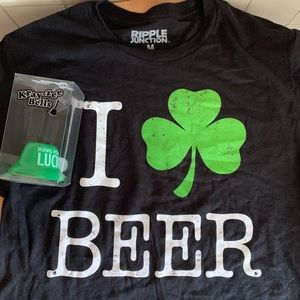 St. Patrick's Day Beer Tee with Bell